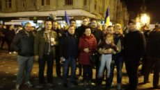 lideri USR Timis proteste